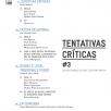Tentativas críticas #3
