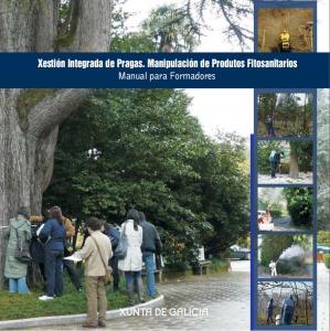 Xestión integrada de pragas. Manipulación de produtos fitosanitarios. Manual para formadores