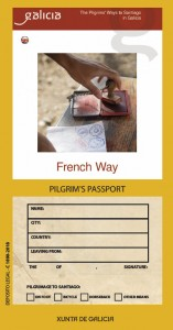 French Way. Pilgrim´s Passport
