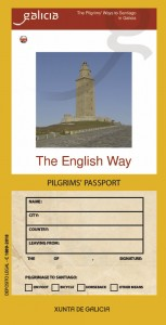 The English Way. Pilgrim´s Passport