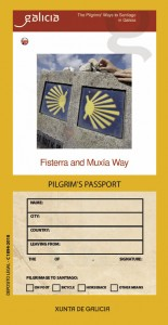 Fisterra and Muxía Way. Pilgrim´s Passport
