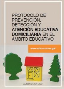 Protocolo de prevención, detección y atención educativa domiciliaria en el ámbito educativo