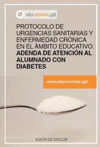 Protocolo de urgencias sanitarias y enfermedad crónica en el ámbito educativo. Adenda de atención al alumnado con diabetes.
