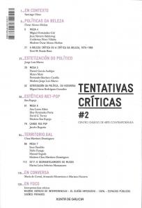 Tentativas críticas #2